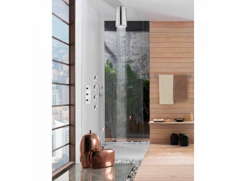 Deasupra capului pentru duș original, cu insertii Swarovski Bossini