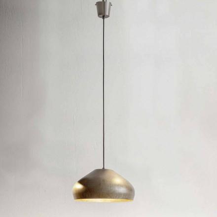 Diametru suspensie din oțel antic de 450 mm - Materia Aldo Bernardi