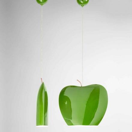 Suspensie în ceramică în formă de mere - fructe Aldo Bernardi