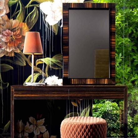 Oglinzi montate pe perete / lemn de abanos Grilli Zarafa fabricate în Italia