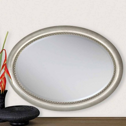 Oglinda de perete din lemn de design modern din Italia Edward