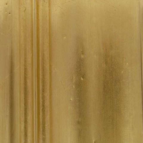 Oglinda din lemn de brad din lemn, francez din rasina din rasina italiana realizata manual