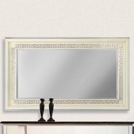 Oglinda de perete din lemn de Ayous realizat manual în Italia Maicol