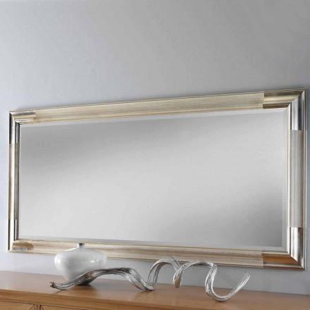 Oglinda moderna din lemn realizata in Italia de catre Piera