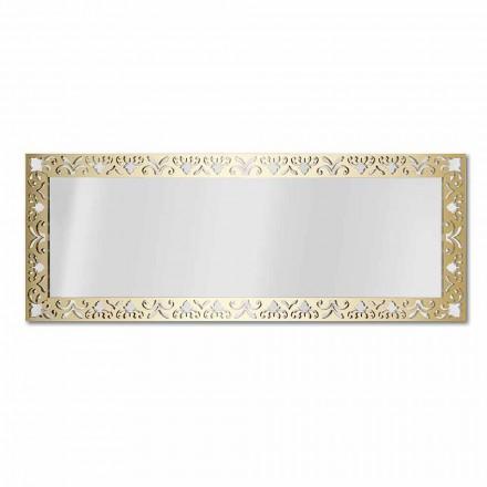 Oglindă de perete din plexiglas de aur, argint sau bronz cu cadru - nectar