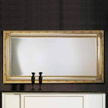 Oglinda de perete modernă din lemn ayous fabricat în Italia Armando
