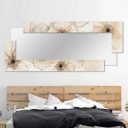 Oglinda moderna de perete din rasina produsa in Italia Sacile
