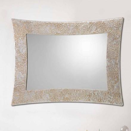 Oglinzi de perete din rășină și frunze de argint din Veneția