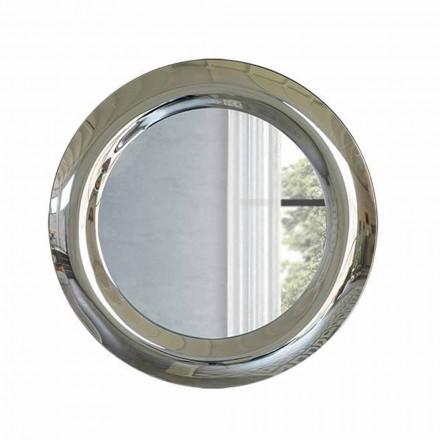 Oglindă mare de perete în finisaj de cristal Fabricat în Italia - Stilla