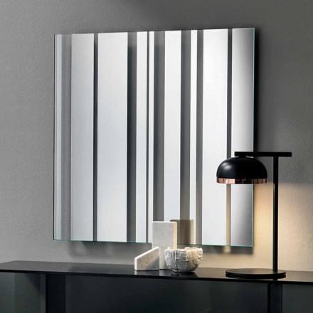 Oglindă de perete cu design modern, realizată în Italia - Coriandolo