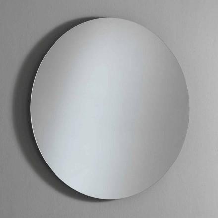 Oglindă rotundă iluminată de perete cu LED Made in Italy - Ronda