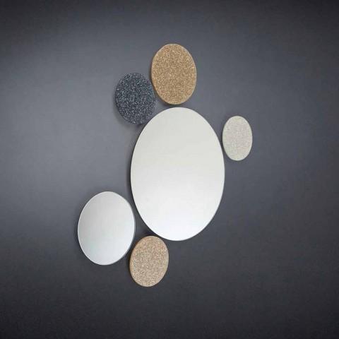 Oglinda rotundă modeno de proiectare de perete făcut în Italia ADDO