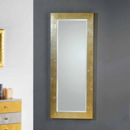 Oglinda de perete / podea design modern, cu cristale Swarovski