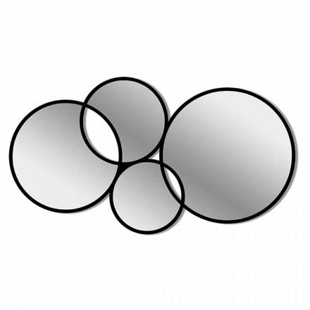 Cadru colorat în formă de oglindă de design modern - sinteză