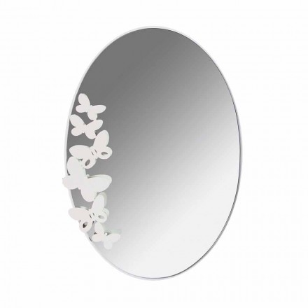 Oglindă modernă cu pereți de fier design modern din Italia - Unt