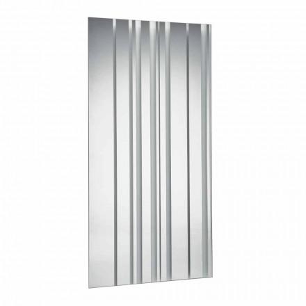 Oglindă dreptunghiulară de design modern, realizată în Italia - Coriandolo