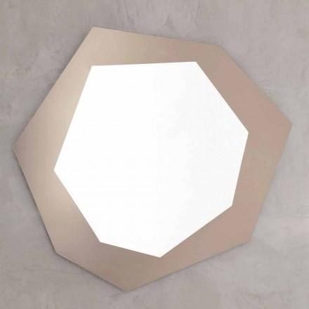 Oglindă de perete în formă de cadru din sticlă Made in Italy - Clor