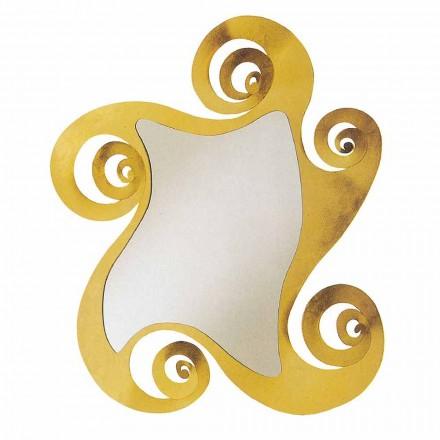 Oglindă de design modern cu formă de fier realizată în Italia - Pacific