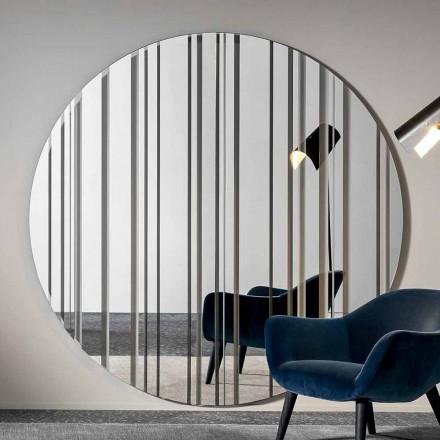 Oglinda rotunda de perete cu diametru 200 cm Made in Italy - Coriandolo