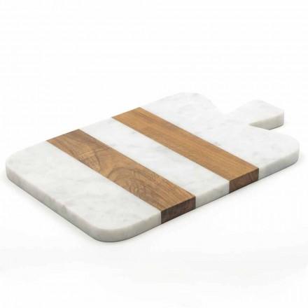 Marmura alba de Carrara si lemnul realizat in Italia