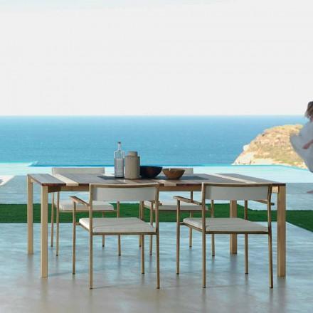 Talenti Casilda masă de grădină design L260xH76cm făcută în Italia