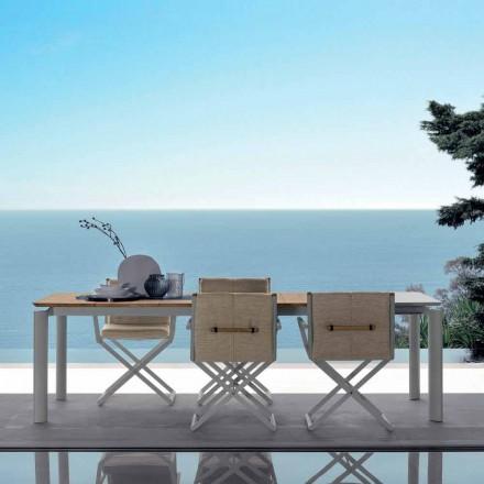 Talenti Domino extensibilă masă de grădină 200 / 260cm făcută în Italia