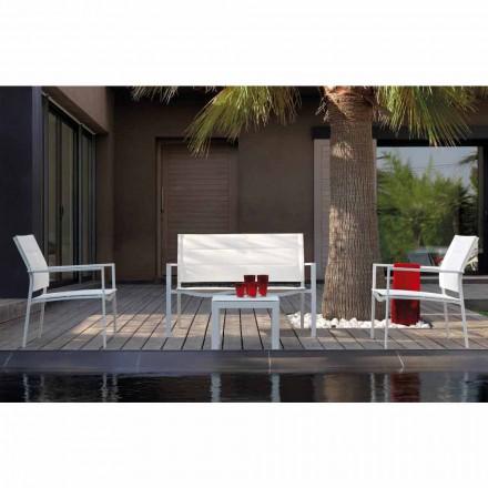 Talenti Touch design compoziția de lounge în aer liber făcută în Italia