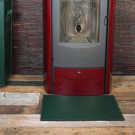 Covoraș din piele pentru șemineu / sobă Virgilio Made in Italy