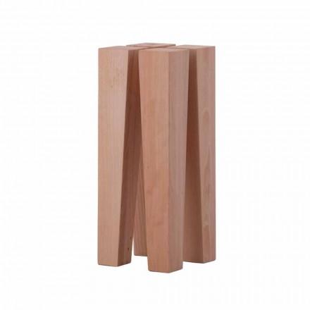 Masă de cafea cu design modern din lemn de fag - Roncone