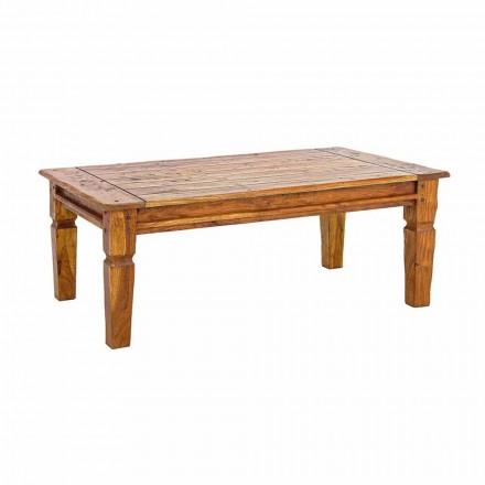 Masă de cafea din lemn de salcâm solid Homemotion Design clasic - Remo