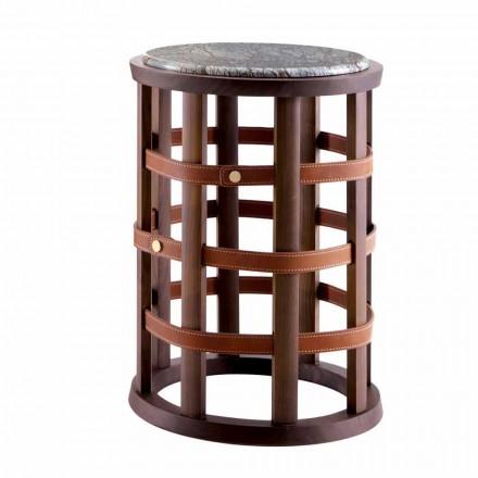 Grilli Harris este o masă rotundă de fumat modern din Italia