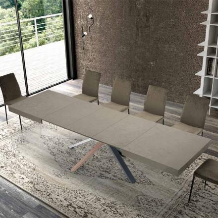 Masă extensibilă din lemn de design modern până la 3,1 m - Argentario