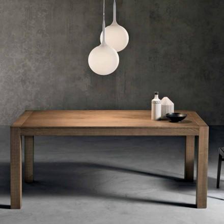 Modernă masă de lemn de frasin extinsă din Italia Parre
