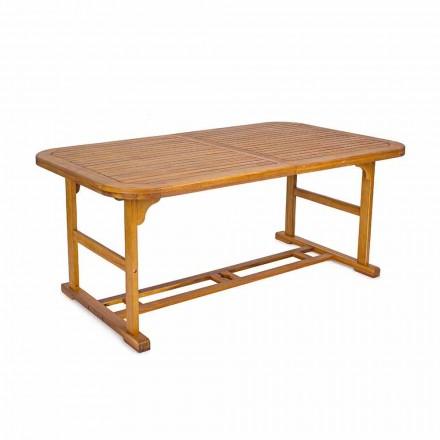 Masă extensibilă până la 240 cm în lemn de grădină, de design - Roxen