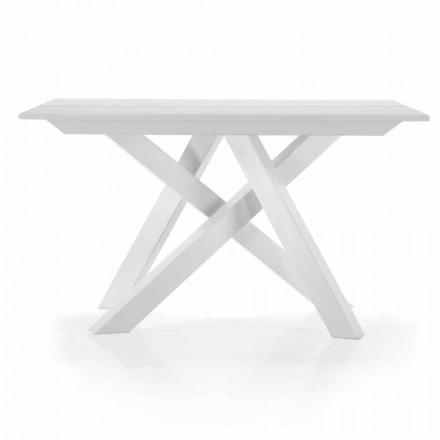Consola extensibilă de masă până la 325 cm în melamină Made in Italy - Settimmio
