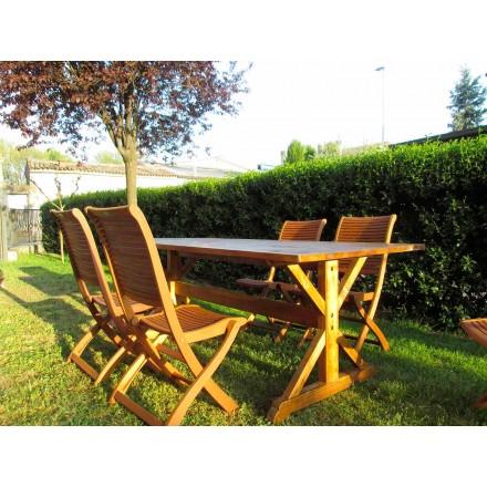 Masa din lemn de brad rustic din Italia - Clinio