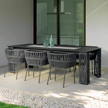 Clipe de grădină masă extensibilă până la 300cm, Talenti de Palomba