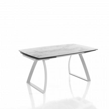 Masă de luat masa extensibilă din ceramică - Willer