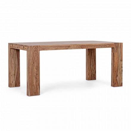 Masă de luat masa din lemn Homemotion Extensibilă până la 265 cm - Bruce