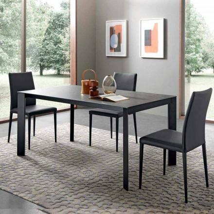 Masă extensibilă de masă Până la 310 cm în ceramică Made in Italy - Pitagora