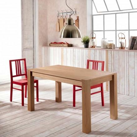 Extensible masă din lemn de stejar Phaedrus, realizate în Italia