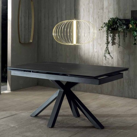 Masă extensibilă de masă de design cu blat din ceramică Până la 240 cm - Ultron