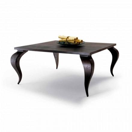 Masă de design de lux din lemn masiv, made in Italy, Subiect