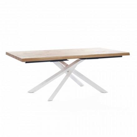 Masă design din lemn și metal fabricată în Italia - Skipper