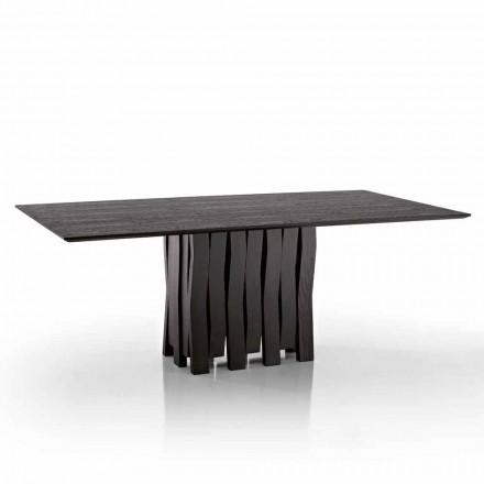 Design masa de masă din lemn MDF din Italia, Egisto