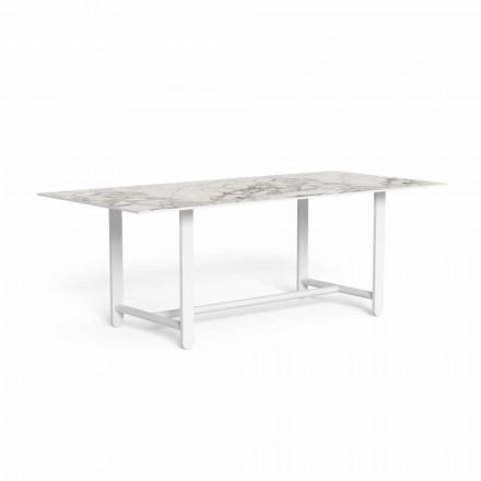 Masă de luat masa în aer liber cu blat Gres, de înaltă calitate - Riviera by Talenti