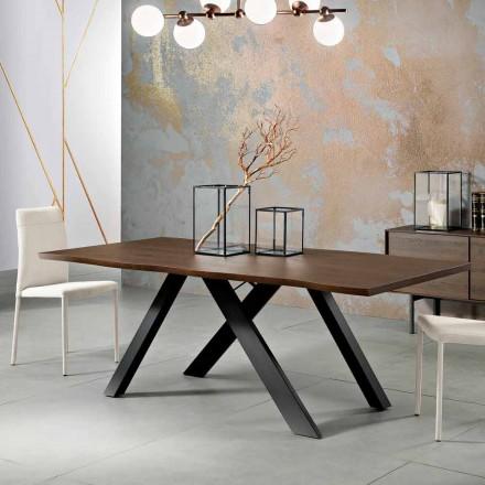 Proiectam masă din lemn masiv din Italia, Wilmer