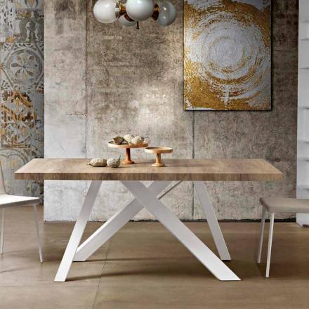 Masă extensibilă modernă din lemn de melamină din Italia, Wilmer