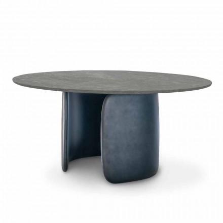 Masă de masă din ceramică cu bază din poliuretan Made in Italy - Mellow Bonaldo
