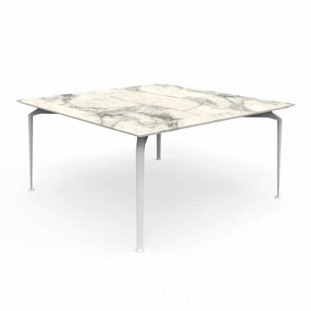 Design modern de masă în aer liber și aluminiu - Cruise Alu Talenti